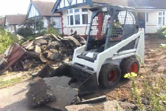 Asphalt Driveway demolition and installation
